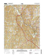 Martinsville West Virginia Current topographic map, 1:24000 scale, 7.5 X 7.5 Minute, Year 2016 from Virginia Map Store
