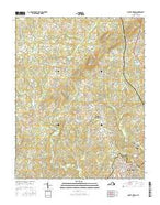 Mount Hermon Virginia Current topographic map, 1:24000 scale, 7.5 X 7.5 Minute, Year 2016 from Virginia Map Store