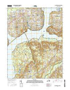 Mount Vernon Virginia Current topographic map, 1:24000 scale, 7.5 X 7.5 Minute, Year 2016 from Virginia Map Store