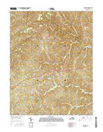 Prospect Virginia Current topographic map, 1:24000 scale, 7.5 X 7.5 Minute, Year 2016 from Virginia Map Store