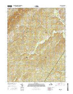 Simeon Virginia Current topographic map, 1:24000 scale, 7.5 X 7.5 Minute, Year 2016 from Virginia Map Store