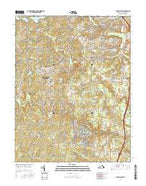 Spotsylvania Virginia Current topographic map, 1:24000 scale, 7.5 X 7.5 Minute, Year 2016 from Virginia Map Store