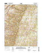 Stephenson Virginia Current topographic map, 1:24000 scale, 7.5 X 7.5 Minute, Year 2016 from Virginia Map Store