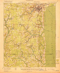 Suffolk Virginia Historical topographic map, 1:62500 scale, 15 X 15 Minute, Year 1919