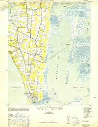 Townsend Virginia Historical topographic map, 1:24000 scale, 7.5 X 7.5 Minute, Year 1943