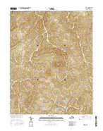 Vera Virginia Current topographic map, 1:24000 scale, 7.5 X 7.5 Minute, Year 2016 from Virginia Map Store