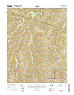 Wellville Virginia Current topographic map, 1:24000 scale, 7.5 X 7.5 Minute, Year 2016 from Virginia Map Store