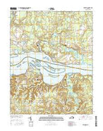 Westover Virginia Current topographic map, 1:24000 scale, 7.5 X 7.5 Minute, Year 2016 from Virginia Map Store