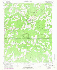 Whaleyville Virginia Historical topographic map, 1:24000 scale, 7.5 X 7.5 Minute, Year 1967