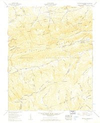 Whitetop Mountain Virginia Historical topographic map, 1:24000 scale, 7.5 X 7.5 Minute, Year 1959