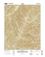 Whiteville Virginia Current topographic map, 1:24000 scale, 7.5 X 7.5 Minute, Year 2016 from Virginia Map Store