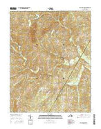 Willis Mountain Virginia Current topographic map, 1:24000 scale, 7.5 X 7.5 Minute, Year 2016 from Virginia Map Store