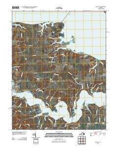 Wilton Virginia Historical topographic map, 1:24000 scale, 7.5 X 7.5 Minute, Year 2010