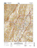 Winchester Virginia Current topographic map, 1:24000 scale, 7.5 X 7.5 Minute, Year 2016 from Virginia Map Store