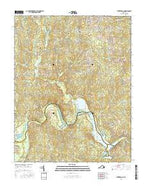 Winterpock Virginia Current topographic map, 1:24000 scale, 7.5 X 7.5 Minute, Year 2016 from Virginia Map Store