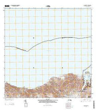 Baron Bluff Virgin Islands Current topographic map, 1:20000 scale, 7.5 X 7.5 Minute, Year 2013