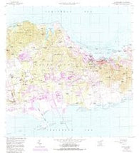 Christiansted Virgin Islands Historical topographic map, 1:24000 scale, 7.5 X 7.5 Minute, Year 1958