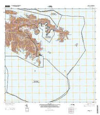 Coral Bay Virgin Islands Current topographic map, 1:20000 scale, 7.5 X 7.5 Minute, Year 2013