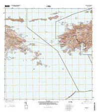 Cruz Bay Virgin Islands Current topographic map, 1:20000 scale, 7.5 X 7.5 Minute, Year 2013
