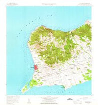 Frederiksted Virgin Islands Historical topographic map, 1:24000 scale, 7.5 X 7.5 Minute, Year 1958