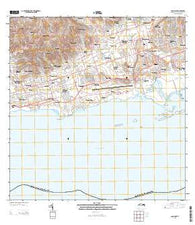 Long Point Virgin Islands Current topographic map, 1:20000 scale, 7.5 X 7.5 Minute, Year 2013