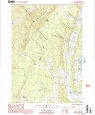Albany Vermont Historical topographic map, 1:24000 scale, 7.5 X 7.5 Minute, Year 1986
