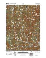 Andover Vermont Historical topographic map, 1:24000 scale, 7.5 X 7.5 Minute, Year 2012