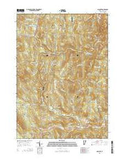 Andover Vermont Current topographic map, 1:24000 scale, 7.5 X 7.5 Minute, Year 2015 from Vermont Maps Store