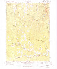 Andover Vermont Historical topographic map, 1:24000 scale, 7.5 X 7.5 Minute, Year 1971