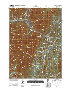 Arlington Vermont Historical topographic map, 1:24000 scale, 7.5 X 7.5 Minute, Year 2012