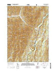 Arlington Vermont Current topographic map, 1:24000 scale, 7.5 X 7.5 Minute, Year 2015 from Vermont Maps Store