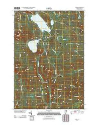 Averill Vermont Historical topographic map, 1:24000 scale, 7.5 X 7.5 Minute, Year 2012