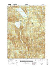 Averill Vermont Current topographic map, 1:24000 scale, 7.5 X 7.5 Minute, Year 2015 from Vermont Maps Store