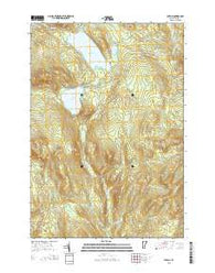 Averill Vermont Current topographic map, 1:24000 scale, 7.5 X 7.5 Minute, Year 2015