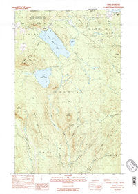 Averill Vermont Historical topographic map, 1:24000 scale, 7.5 X 7.5 Minute, Year 1989
