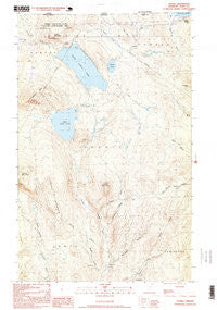 Averill Vermont Historical topographic map, 1:24000 scale, 7.5 X 7.5 Minute, Year 1995