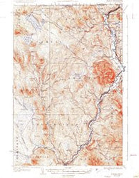 Averill Vermont Historical topographic map, 1:62500 scale, 15 X 15 Minute, Year 1929