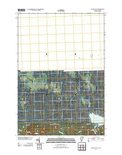 Averill OE N Vermont Historical topographic map, 1:24000 scale, 7.5 X 7.5 Minute, Year 2012