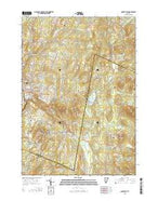 Barre East Vermont Current topographic map, 1:24000 scale, 7.5 X 7.5 Minute, Year 2015 from Vermont Map Store