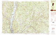 Bellows Falls Vermont Historical topographic map, 1:25000 scale, 7.5 X 15 Minute, Year 1985