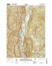 Bellows Falls Vermont Current topographic map, 1:24000 scale, 7.5 X 7.5 Minute, Year 2015 from Vermont Maps Store