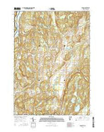 Benson Vermont Current topographic map, 1:24000 scale, 7.5 X 7.5 Minute, Year 2015 from Vermont Map Store