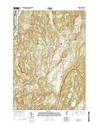 Benson Vermont Current topographic map, 1:24000 scale, 7.5 X 7.5 Minute, Year 2015