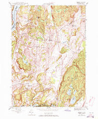 Benson Vermont Historical topographic map, 1:24000 scale, 7.5 X 7.5 Minute, Year 1946