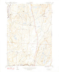 Benson Vermont Historical topographic map, 1:24000 scale, 7.5 X 7.5 Minute, Year 1948
