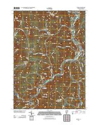 Bethel Vermont Historical topographic map, 1:24000 scale, 7.5 X 7.5 Minute, Year 2012