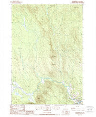 Bloomfield Vermont Historical topographic map, 1:24000 scale, 7.5 X 7.5 Minute, Year 1988