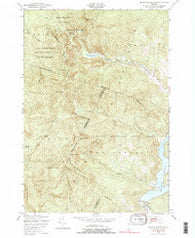 Bolton Mountain Vermont Historical topographic map, 1:24000 scale, 7.5 X 7.5 Minute, Year 1948
