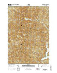 Bolton Mountain Vermont Current topographic map, 1:24000 scale, 7.5 X 7.5 Minute, Year 2015