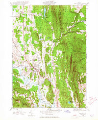 Brandon Vermont Historical topographic map, 1:24000 scale, 7.5 X 7.5 Minute, Year 1946
